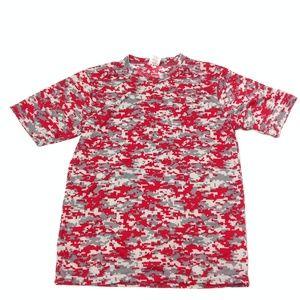 Augusta Sportswear Boys Tshirt Size Youth M Red
